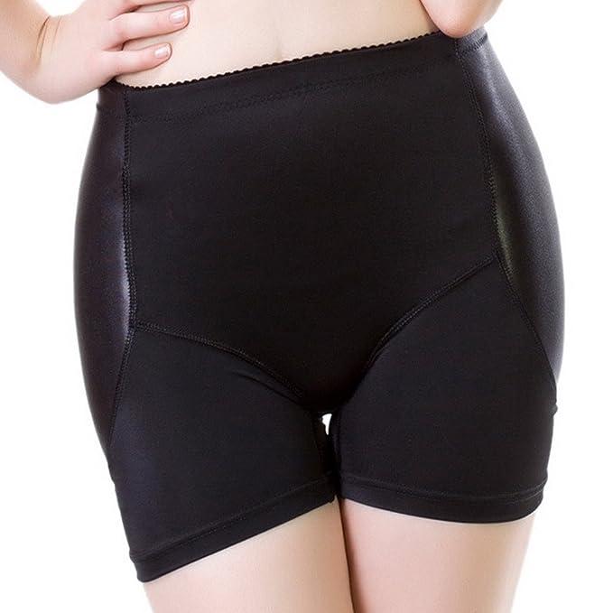 Aivtalk Mujer Bragas Braguitas Moldeadoras con Relleno Embellecer Cadera Lateral Calzones sin Costuras Hip Up Enhancer