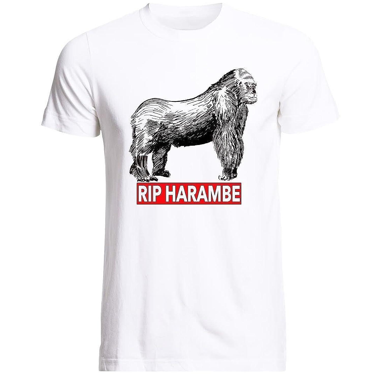 Harambe Gorilla Tshirts,RIP Cincinnati Zoo Men's T-Shirts, Support Harambe Tee