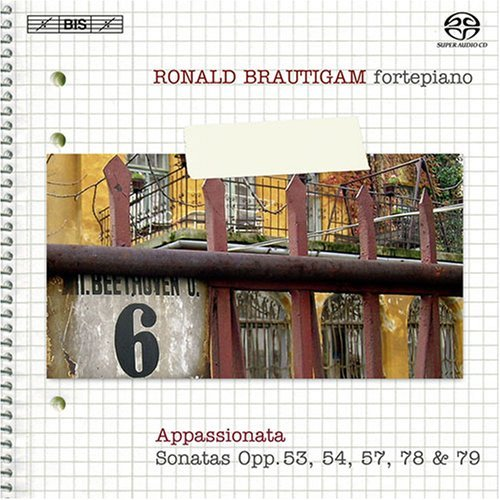 Beethoven: Complete Works for Solo Piano, Vol. 6 [Hybrid SACD] by Brautigam (2008-09-30)
