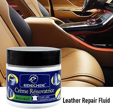Asosmos Leder Vinyl Reparatur Füller Verbindung Creme Für Leder Restaurierung Risse Burns Autositz Sofa Löcher Küche Haushalt