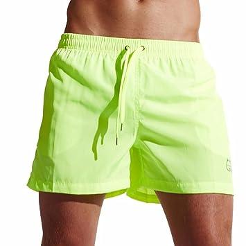 LILICAT Bañadores de Natación Hombre, Pantalones Corto de Playa de Secado Rápido, Pantalones Cortos