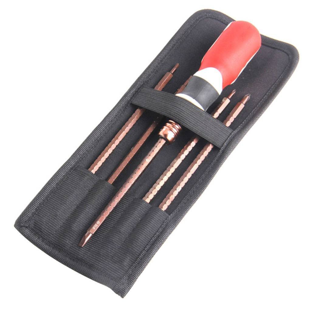 Onepeak 3PCS/Set Screwdriver Set S2 Alloy Hex Flex Ratchet Screwdriver Adjustable Telescopic Multifunctional Hand Tools