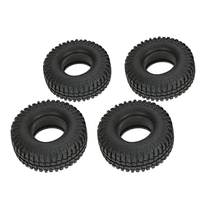 "Goolsky 4Pcs Austar 1.9"" 100mm 1/10 Scale Tires for 1/10 RC4WD D90 Axial SCX10 RC Rock Crawler: Toys & Games"