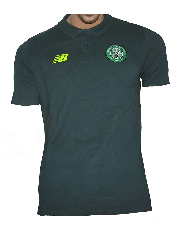 2015-2016 Celtic European Training Polo Shirt (Green) B015XCWALG