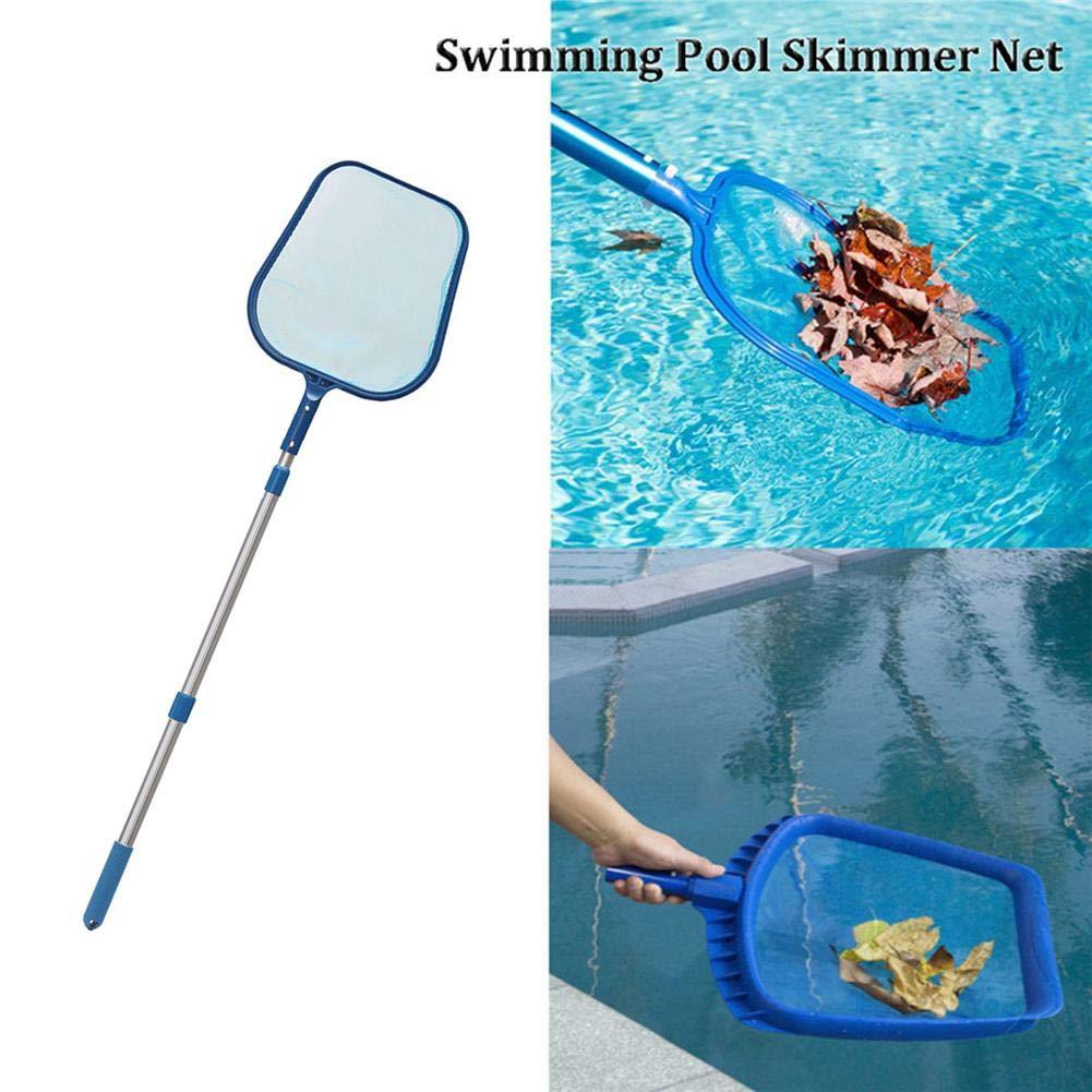 Pepional Schwimmbadnetz Fischernetz Spielzeug Set Schwimmbad Blatt Skimmer Mesh Net Teich Badewanne Reinigungswerkzeug Mit Teleskopstange