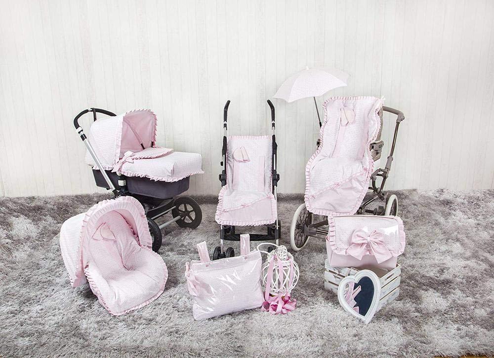 color rosa Babyline Love Colchoneta para silla grupo 0