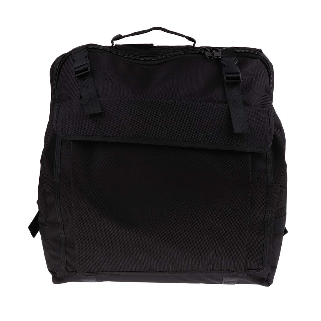 Baosity Thick Padded Bass Piano Accordion Gig Bag Accordion Case Backpack - 120 Bass