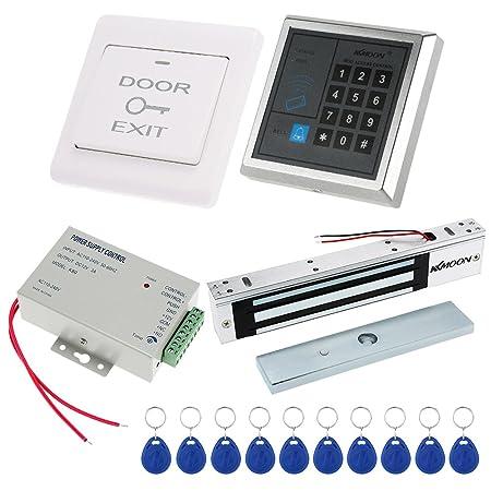 Kkmoon Door Entry Access Control System Kit Password Host Controller