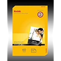 "Kodak 280GSM 60 Sheets Ultra Premium 280gsm 4x6"" Photo Paper, (5740-136)"