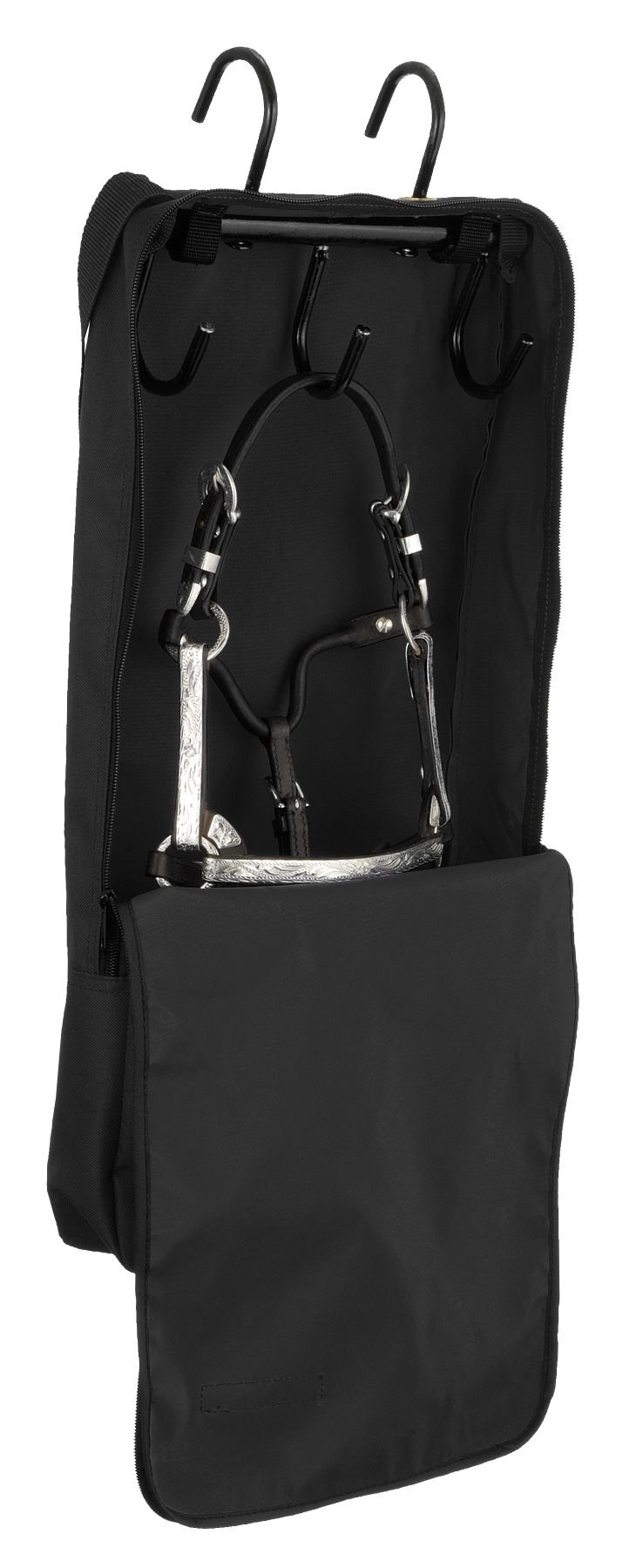 Tough 1 Mini Halter and Bridle Bag with Rack, Black by Tough 1