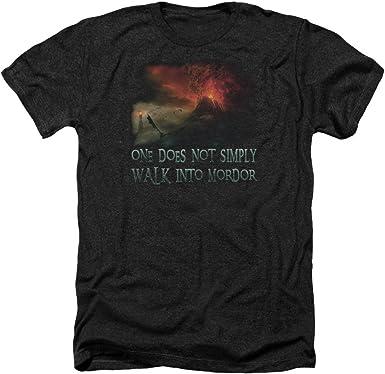 Lor Walk In Mordor Adult Work Shirt