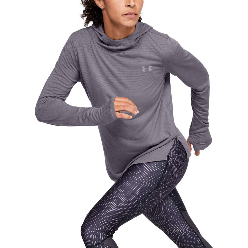 Felpa Donna Under Armour Streaker 2.0 Long Sleeve Hoodie