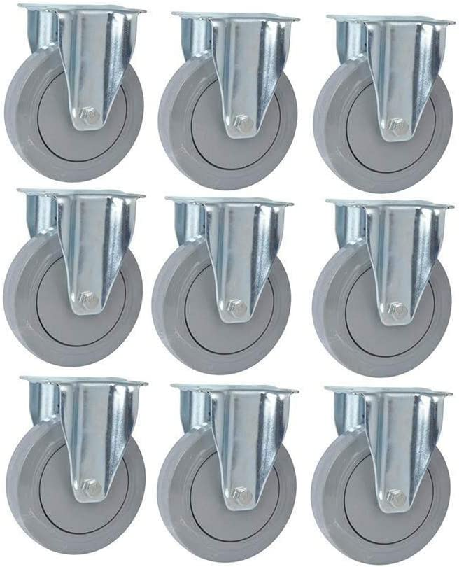 Orientation Furniture Casters,TPR Plastic Core Industry Wheel 5 Inch