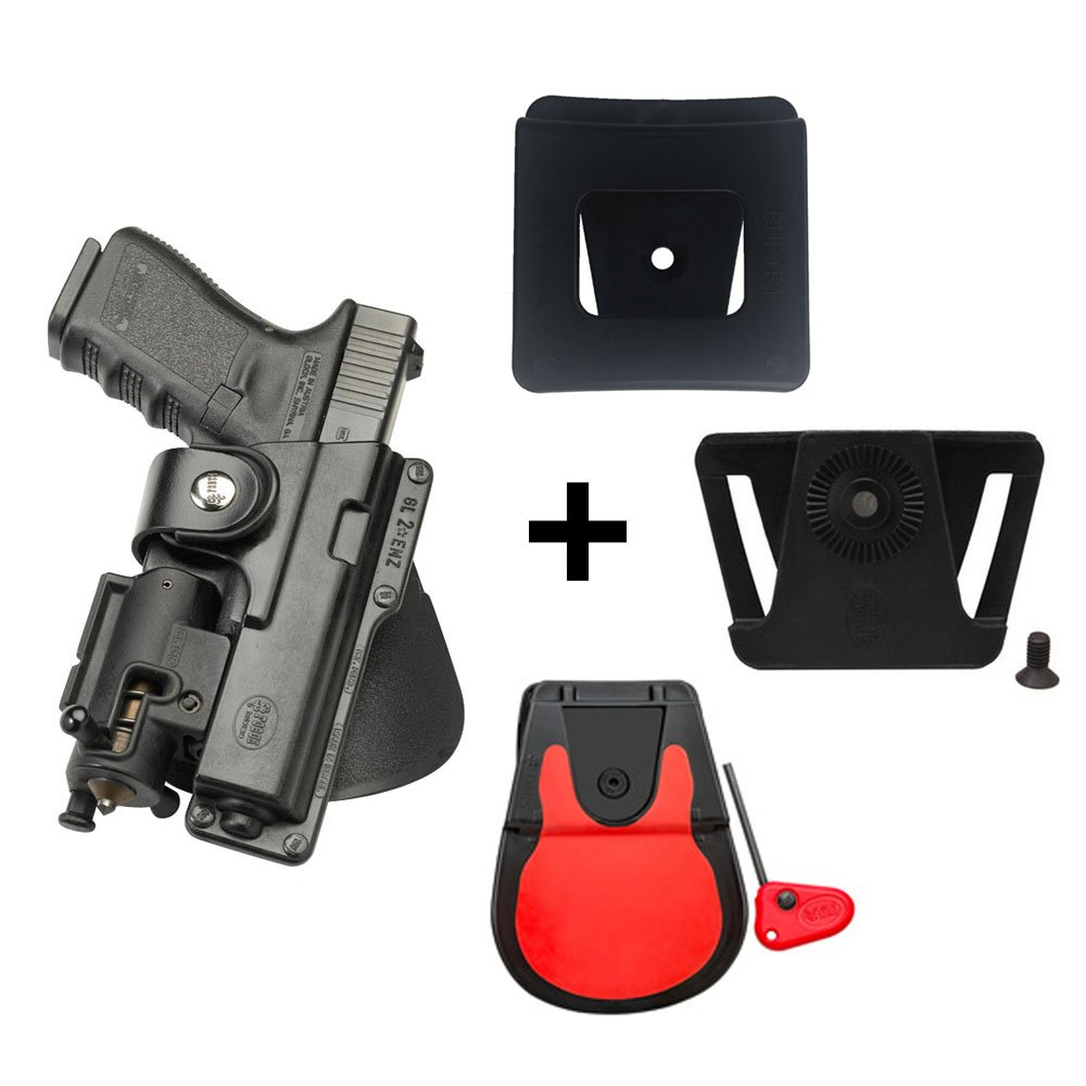 P226 Tactical Operations Molle adapter attachment for Sig Sauer 226 pistol handgun Tacops 9mm//.40//357 IMI Defense Tactical retention rotating 360 roto paddle polymer Holster