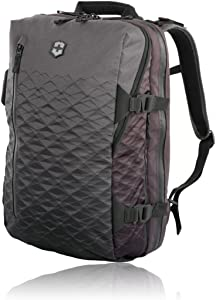 """Victorinox VX Touring 17"""" Laptop Backpack with Tablet Pocket, Anthracite, 19.2-Inch"""