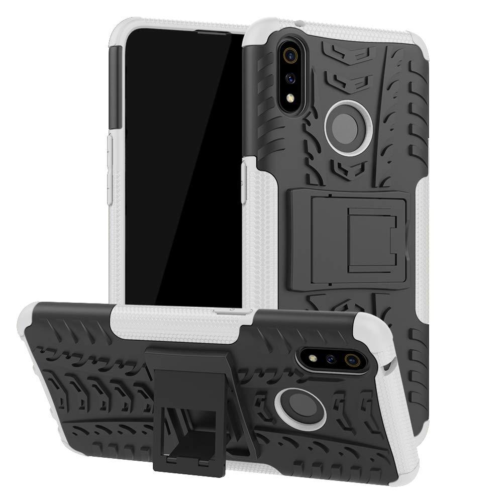 XunEda Funda OPPO Realme 3 Pro, Dual Layer Funda Hard Armor y de ...