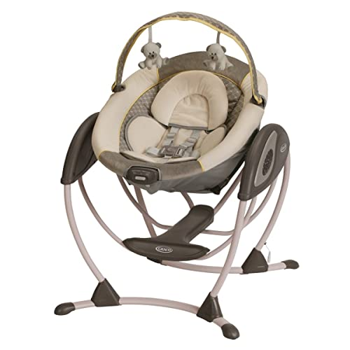 Reviews Graco Glider Lx Gliding Swing Peyton