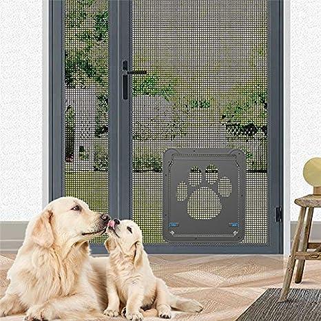 Puerta de perro gato de 35,56 cm x 40,64 cm, puerta