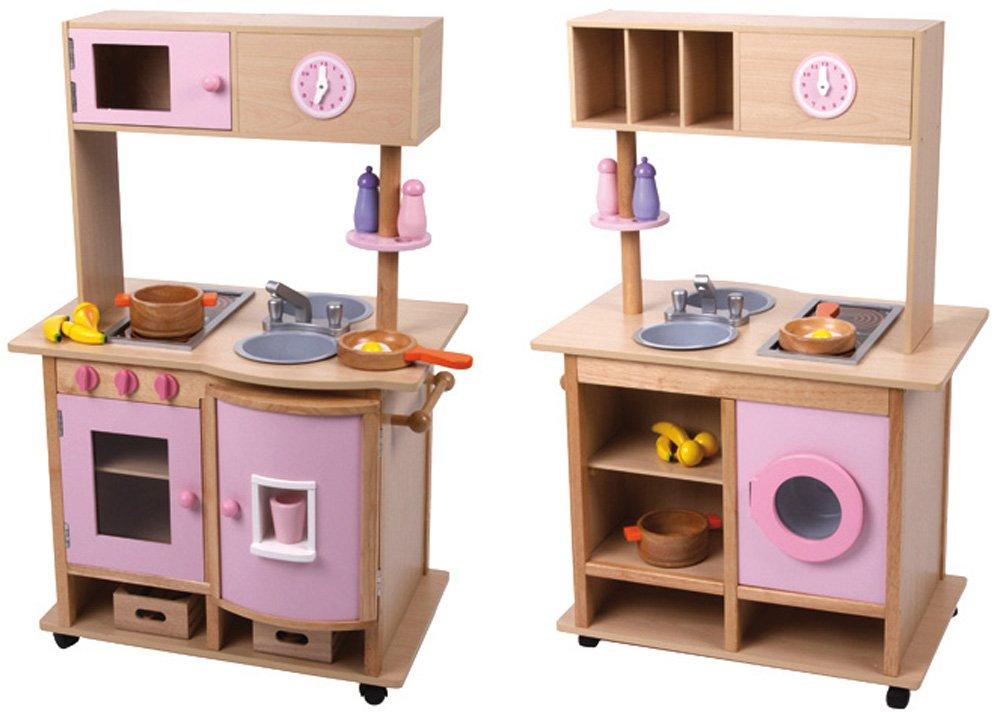 Kinderküche für Zwillinge - Mentari Spielküche mit Rollen