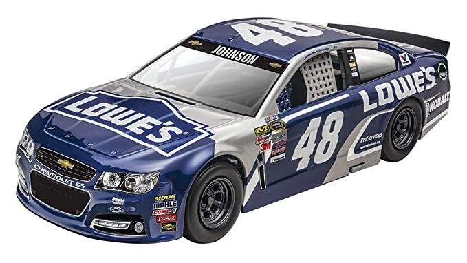 Jimmie Johnson Chevy >> Revell Snaptite Max Nascar 2016 Jimmie Johnson Lowe S Chevy Ss Model Kit