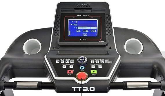 Reebok - Cinta de Correr TT3.0 Treadmill RVTT-10721BK: Amazon.es ...