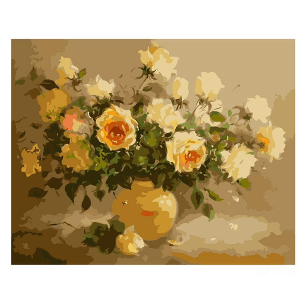 CHRRI DIY Digital Painting Set, Paint Paint Paint Digital DIY Ölmalerei Farbe Leinwand Drucken Wandkünstler Lebensdekoration B07Q214Z6D | Discount  ebed39