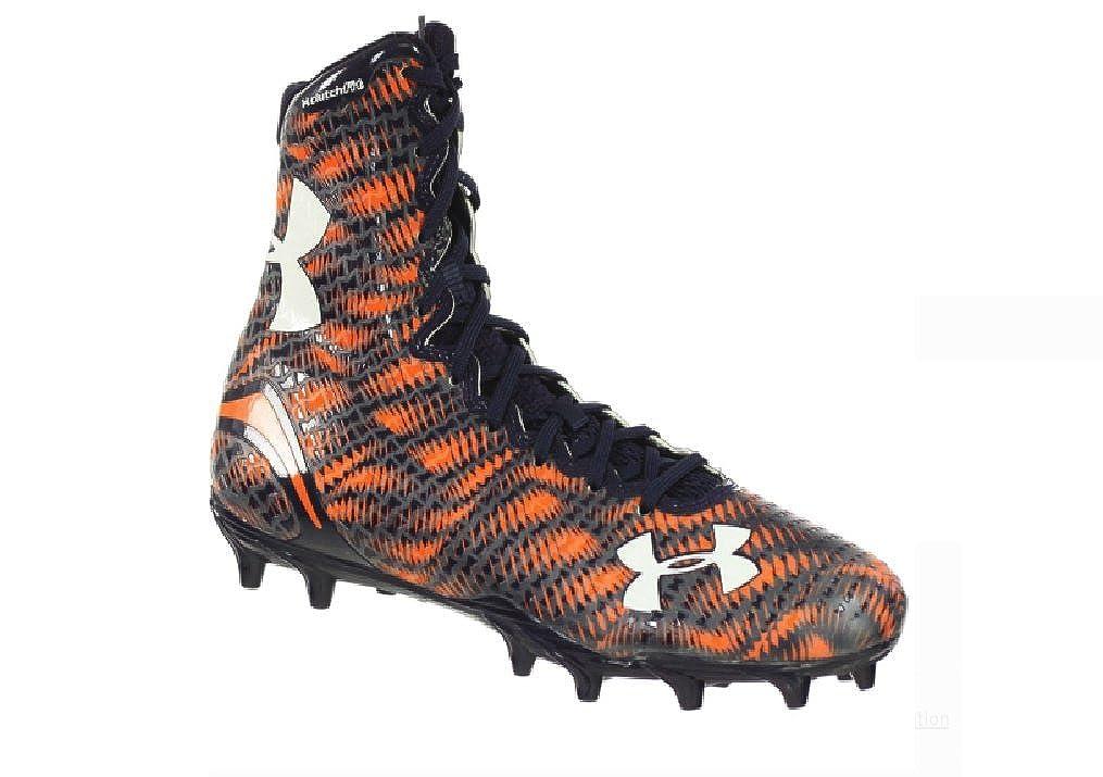 00bc14442fe5 Amazon.com | Under Armour UA Highlight MC Men's Blue-Orange Football Cleats  11 US | Football