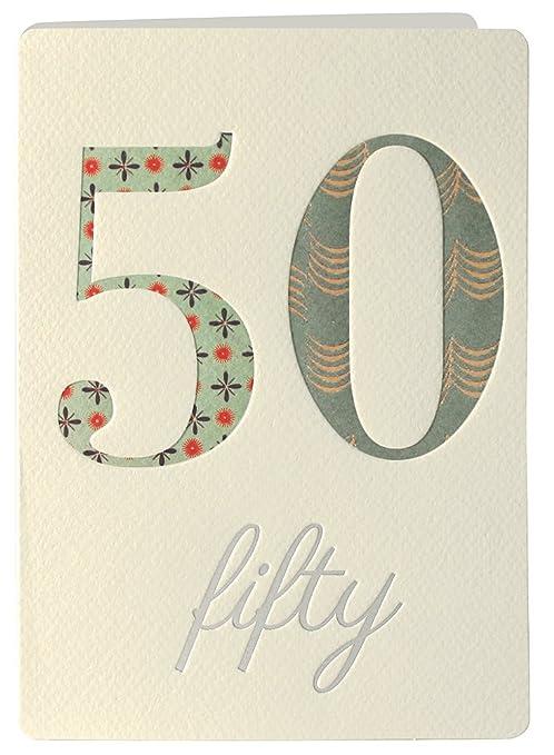 Retro James Ellis Biglietto Di Auguri Per Compleanno Di 50