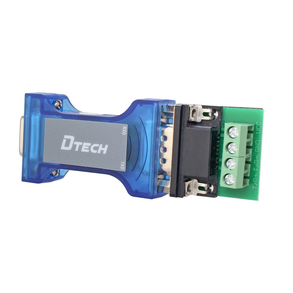 Amazon.com: DTECH Industrial Grade Port-Powered RS232 to RS485 ...