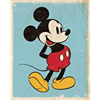 Mini Poster Mickey Mouse Retro