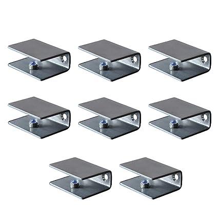 Amazon.com: Juego de 8 soportes de acero inoxidable para ...