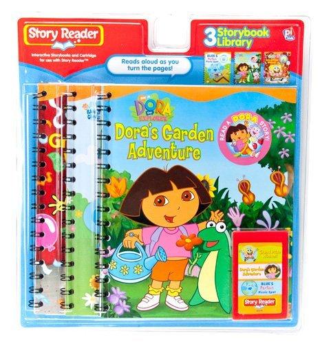 Story Reader 3-Book Nickelodeon Library: Dora the Explorer Garden Adventure; SpongeBob SquarePants Grand Prize Winner; Blue's Perfect Picnic Spot pdf