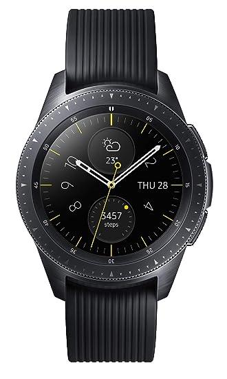 Samsung Galaxy Watch 42mm - UK Version - Midnight Black  Amazon.co.uk   Electronics bb717b9319c