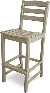 product image for POLYWOOD TD102SA La Casa Café Bar Side Chair, Sand