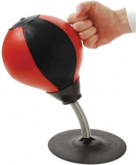 Faneli - Juego de Mesa de Punching Ball, Pelota de Escritorio con Bomba de Combate, Bolsa Reflectante para estrés Pesado para Adultos y niños: Amazon.es: Deportes y aire libre