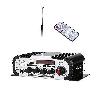 Hifi Amplificador, ARCHEER Mini Reproductor de m¨²sica, M¨¢quina de