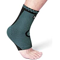 Cambivo Plantar Fasciitis Socks, Ankle Sleeve with Arch Support for Men and Women, Fit for Plantar Fasciitis Pain Relief, Foot Pain, Heel Pain, Arch Pain, Ankle Pain, Swelling, Injury Recovery, Achilles Tendon, Running, Hiking, Tennis