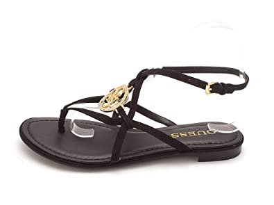 GUESS Womens Romie3 Split Toe Casual Ankle Strap Sandals