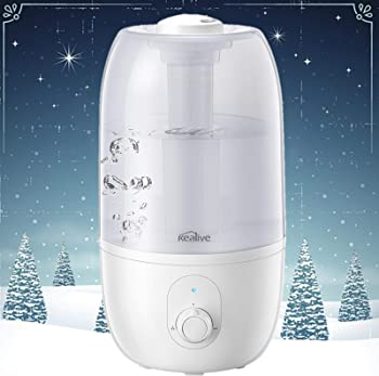 Kealive 30-Hour Whisper Quiet Cool Mist Humidifier