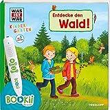 BOOKii WAS IST WAS Kindergarten Entdecke den Wald: Wald, Waldtiere und Waldforscher - ab 3 Jahren!