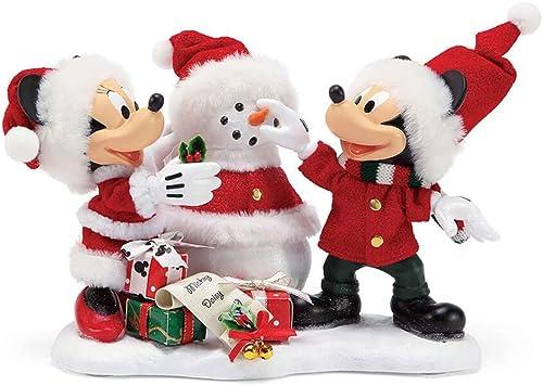 Department 56 Disney Snow Santa by Possible Dreams Figurine, 6 , Multicolor