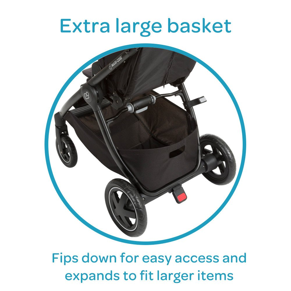 Maxi-Cosi Adorra Modular Stroller, Devoted Black by Maxi-Cosi (Image #5)