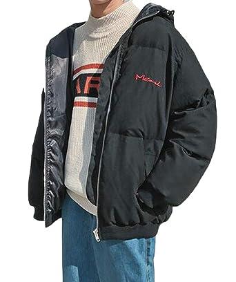 Amazon.com: Mstyle - Chaqueta térmica con capucha para ...