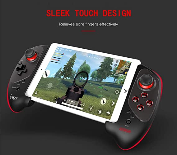 IPEGA PG-9083S Wireless adapter 4 0 Joystick Gamepad with 5-10 Inch  Telescopic Holder for Android/iOS Smartphone Android Tablet PC Smart  Android PC TV