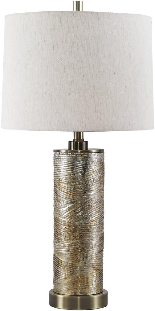 Ashley Furniture Signature Design - Farrar Table Lamp - Modern - Gold Finish