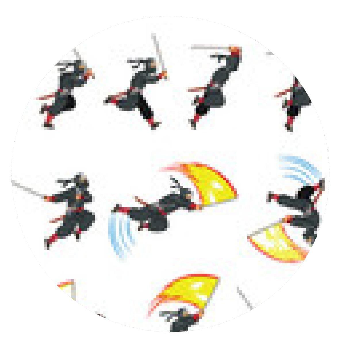 alfombrilla de ratón Ninja Flying juego de ataque Sprite ...