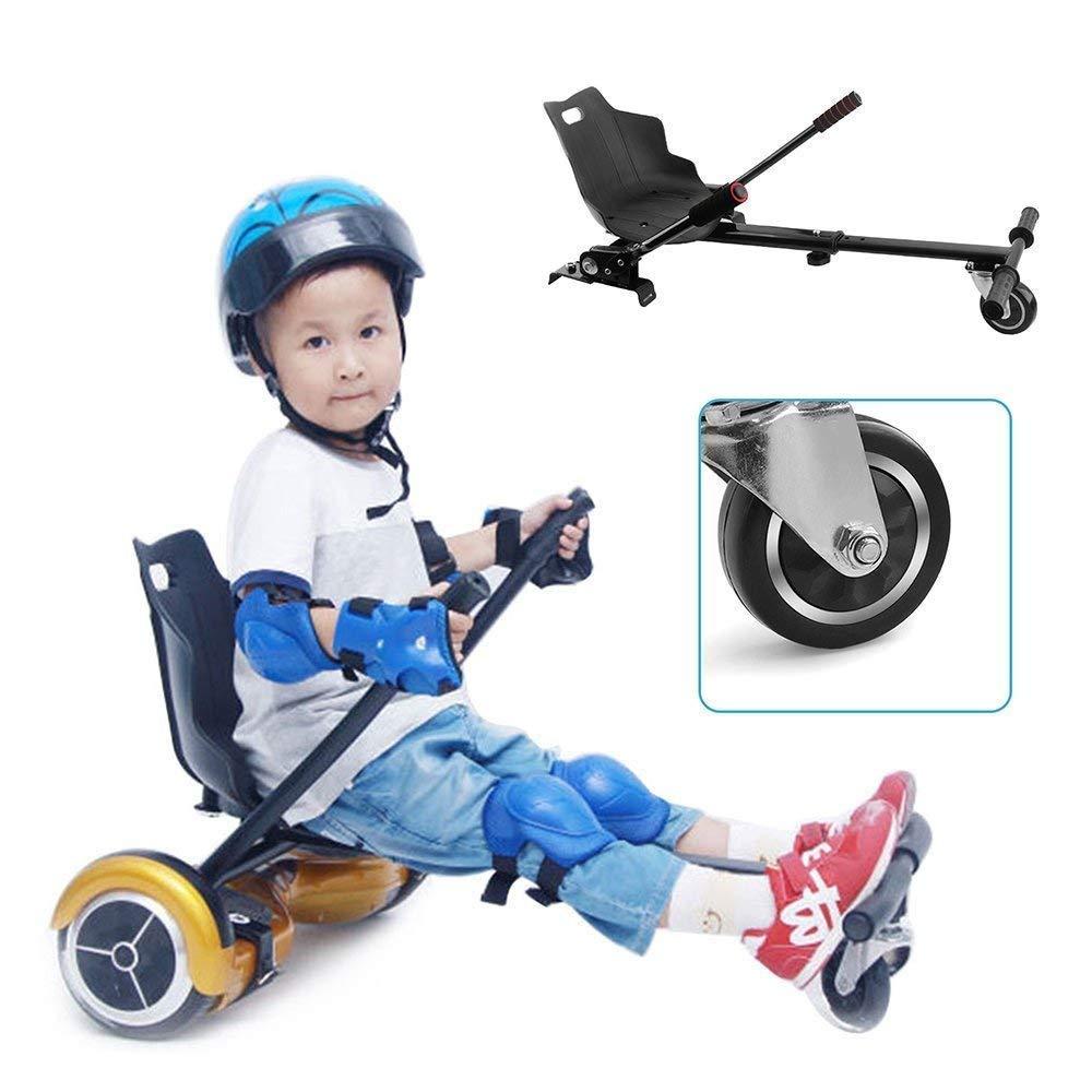 Hoverkart para 6.5 8 8.5  10  Scooter Autoequilibrante Fuerte y La Seguridad Hoverkart con 2 Pares Cinturon de seguridad