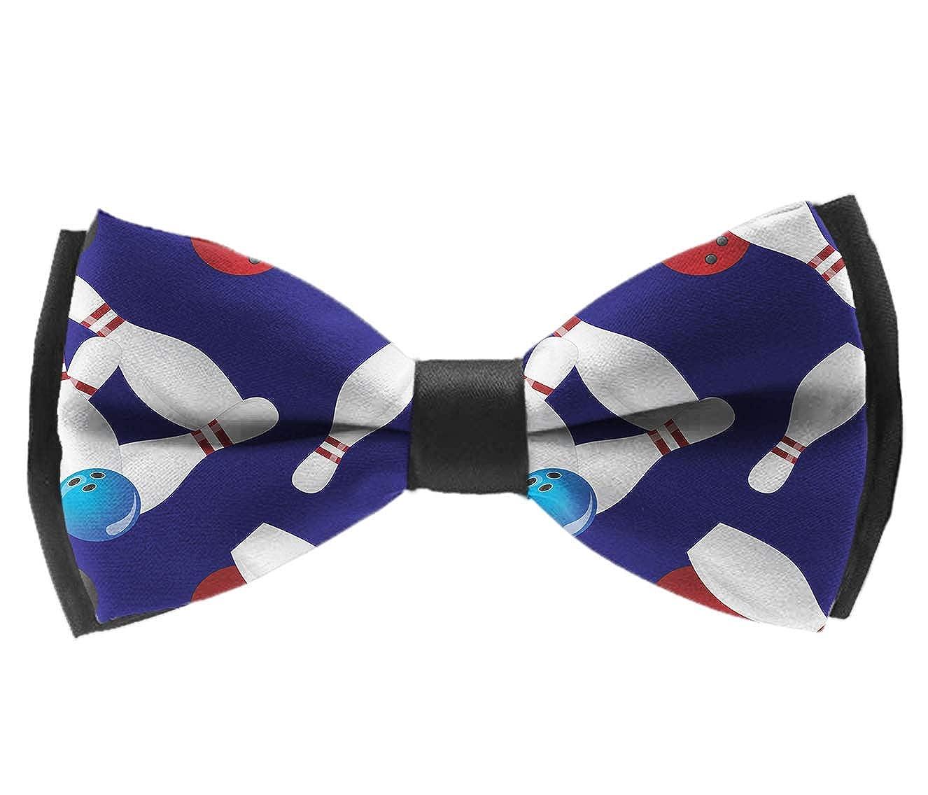 Elegant Bowling Ball Adjustable Men Boy Tuxedo Assorted Ties