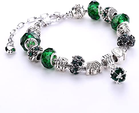charms pandora vert