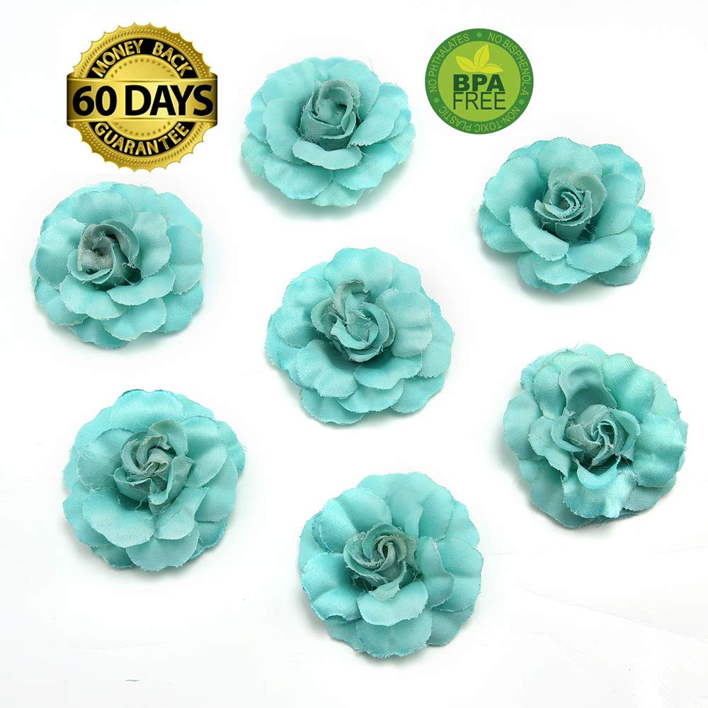 fake flowers heads Artificial Silk Mini Rose Flower Head Wedding Home  Decoration DIY Garland Scrapbook Gift Box Craft Fake Flower 30pcs/lot 4 5cm
